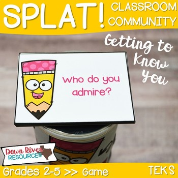 SPLAT! Getting to Know You Game for Classroom Community & Team Building
