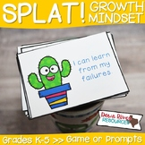SPLAT! Growth Mindset Game | Growth Mindset Prompts