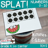 SPLAT! Read and Represent Whole Numbers up to 20 Math Cent