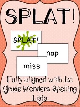 SPLAT! Reading Game Fully Aligned with 1st Grade Wonders Program