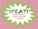 SPLAT! Sight Words Game- Preprimer & Primer Edition