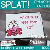 SPLAT! Ten More & Ten Less Interactive Math Center- First & Second Grades {TEKS}