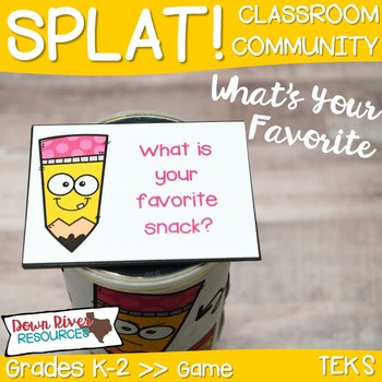 SPLAT! What Is Your Favorite...? Game for Getting to Know You & Team Building