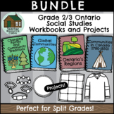 SPLIT GRADE BUNDLE: Grade 2/3 Social Studies Workbooks (Ontario Curriculum)