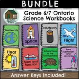 SPLIT GRADE BUNDLE: Grade 6/7 Science Workbooks (Ontario Curriculum)