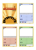 SPLODGéMON - A Pokemon Style Card Game for School! Create