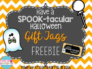 SPOOK-tacular Halloween Gift Tags Freebie!