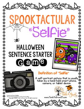 SPOOKTacular Selfie - Handwriting Board Game