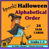 SPOOKY HALLOWEEN ALPHABETICAL ORDER • GRADES 3–5