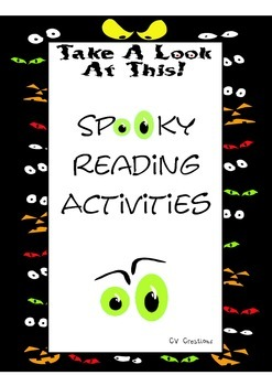 SPOOKY Reading Activities and Center Games