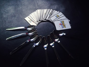 SPOONS: A Game of Part of Speech