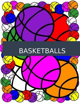 SPORT CLIPART ~Soccer~  ~Basketball~ 60 Images Athletes and Balls