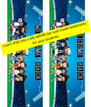 SPORTS ALL STARS - Class Decor: LARGE BANNER, Welcome Back banner for students