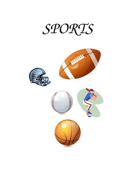 SPORTS BOOK AND VOCABULARY