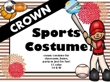 SPORTS FAN  crown / costume