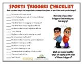 COMPETITION TRIGGERS (Sportsmanship)