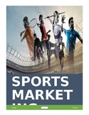 SPORTS MARKETING ACTIVITY!!!  (With Microsoft Word) AWESOME FOR TEENS
