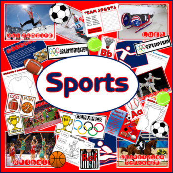 SPORTS PE P.E PHYSICAL EDUCATION OLYMPICS EXERCISE OUTDOOR TEACHING RESOURCES
