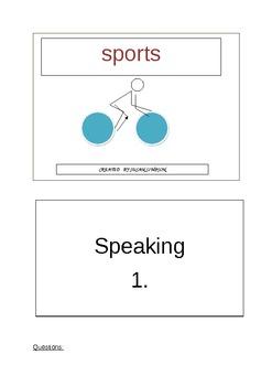 SPORTS - SPEAKING 1