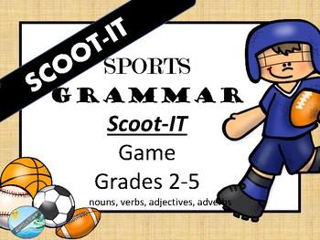 SPORTS Scoot-IT  Grammar - Parts of Speech