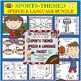 Speech Therapy: SPORTS-THEMED SPEECH, LANGUAGE & ARTICULATION PACKETS