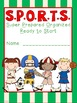 SPORTS Theme Binder Covers