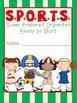 SPORTS Theme Binder Covers