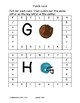 SPORTS UPPERCASE letters PUNCH CARDS FINE MOTOR prek12345 SPED