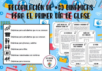 Recopilación de 50 dinámicas de grupo y juegos para el primer día de clase