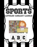 SPORTS leveled library labels