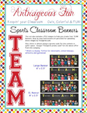 SPORTS theme - Character Education TEAMWORK banner