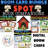 SPOT DIGITAL BOOM CARDS BOOK COMPANION BUNDLE (SPEECH THERAPY)