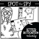 SPOT THE SPY {Activity for Letter Recognition Fluency}