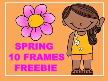 SPRING 10 FRAMES FREEBIE