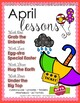 SPRING 12 LESSON PLANS Curriculum Bundle [MARCH ~ APRIL ~ MAY] Series 3