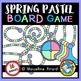 SPRING GAME BOARD CLIPART: BUILD A GAME CLIPART: SPRING CLIPART