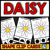 SPRING ACTIVITIES KINDERGARTEN (DAISY SHAPES RECOGNITION C