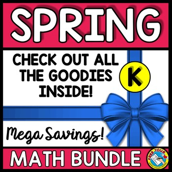 SPRING ACTIVITIES KINDERGARTEN (WORKSHEETS, GAMES AND PHONICS CENTERS)
