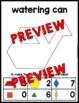 SPRING ACTIVITY 1ST GRADE (KINDERGARTEN PATTERN BLOCKS PUZZLES) APRIL MATH