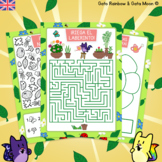 SPRING ACTIVITY PACK - Math Center + Coloring Pages. 6 FUN ACTIVITIES
