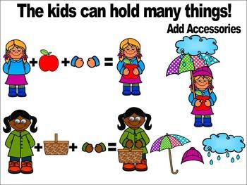 SPRING KIDS CLIPART- SPRING CLIP ART