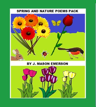 SPRING AND NATURE POEMS PACK (80 PPs!)