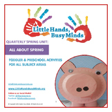 SPRING Activities : All About Spring: Quarterly Thematic Unit