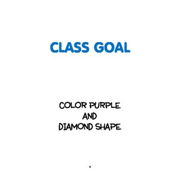 SPRING Activities: Color Purple and Diamond Shape Toddler/Preschooler Unit