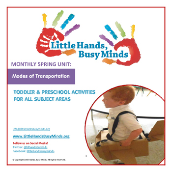 SPRING Activities : Modes of Transportation: Monthly Thematic Unit