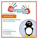 WINTER Activities : Winter and Health: Quarterly Thematic Unit