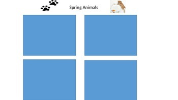 SPRING Activity for kids!