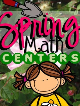 {SPRING} Addition & Subtraction Strategies Centers