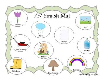 SPRING Articulation Smash Mats || r, l, s, k, g, f, v, sh, th, m