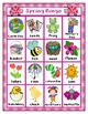 SPRING BINGO CLASSROOM SET 30 UNIQUE BOARDS